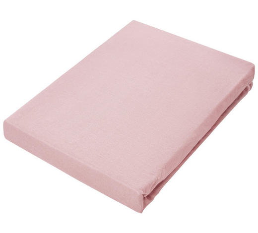 TOPPER-SPANNLEINTUCH - Rosa, Basics, Textil (140/220cm) - Novel