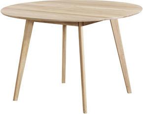 MATBORD - vit/ekfärgad, Klassisk, trä (115/75cm) - Rowico