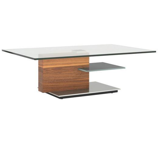Couchtisch In Glas Holz Metall 125 75 40 Cm Online Kaufen Xxxlutz
