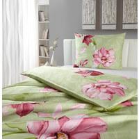 BETTWÄSCHE 200/200 cm - Hellgrün/Rosa, LIFESTYLE, Textil (200/200cm) - NOVEL