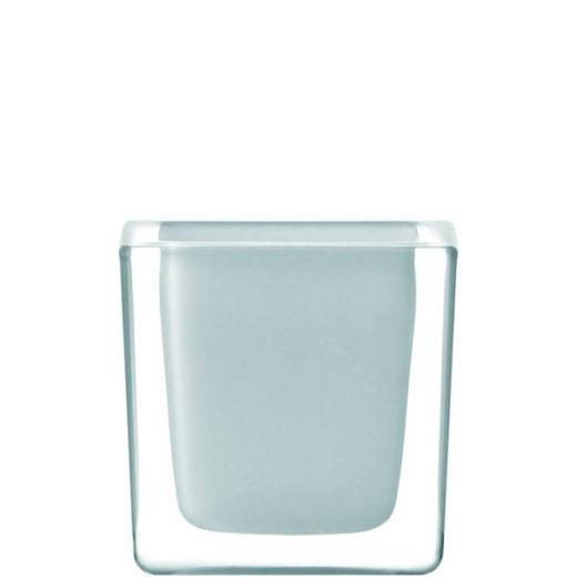 TEELICHTHALTER - Weiß, Basics, Glas (8/8/8cm) - LEONARDO