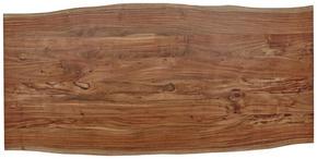 BORDSSKIVA - akaciefärgad, Design, trä (200/100/3,8cm) - Valdera