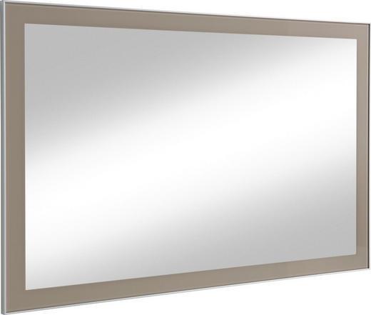 SPIEGEL - Taupe, Design, Glas/Holzwerkstoff (120/77/2cm) - Novel