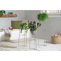 KVĚTINÁČ - šedá, Design, kov (27,5/70,5/26,5cm) - Ambia Home