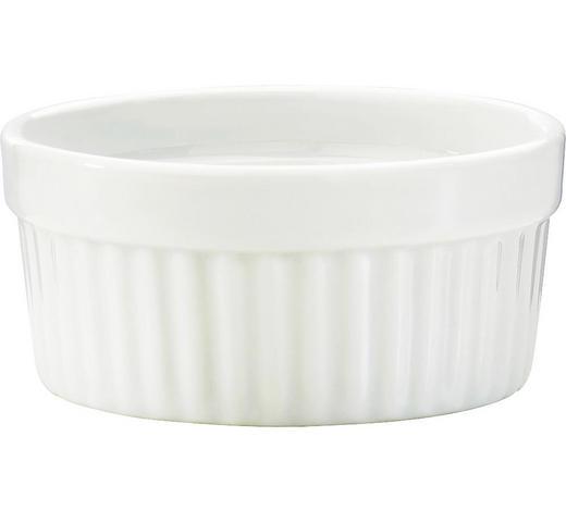 MISKA ZAPÉKACÍ, porcelán - bílá, Basics, keramika (8,5cm) - Homeware Profession.