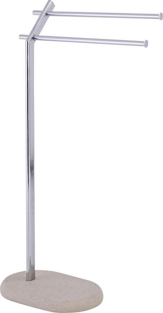 HANDTUCHSTÄNDER - Beige, KONVENTIONELL, Kunststoff/Metall (44,5/20/79cm)